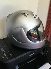 Arai Austral-x Full Face Motorcycle Helmet Size S Small Silver Snell Dot