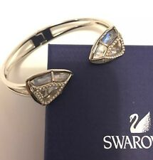 Genuine Swarovski Spectral Triangular Crystal Bangle Good Condition