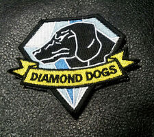 METAL GEAR SOLID DIAMOND DOGS EMBROIDERED TACTICAL VELCRO  PATCH
