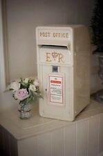 Wedding Post Box Royal Mail - HIRE Only Cornwall / Devon (white, Red Or cream +