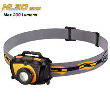 Fenix Head Torch Headlamp HL30 2015 Cree XP-G2 R5+Red LED 230lm light Headlight