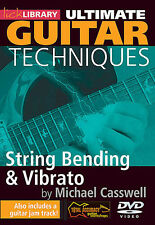 String Bending & Vibrato Ultimate Guitar Techniques Series Lick Librar 000114428