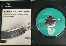 6.8 UPDATE 04 2005 INFINITI QX56 Q45 FX35 FX45 NAVIGATION MAP DISC DVD US CANADA