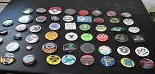 50 Robotics club Pinback Buttons badges pin back collection lot Robots