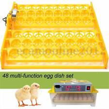 INCUBATRICE AUTOMATICA 48 UOVA GALLINA ANATRA Duck Egg pollo Hatcher+PCB MOTORE