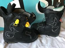 Burton Iroc Snowboard Boots Black Women's SIZE 9 PLEASE READ