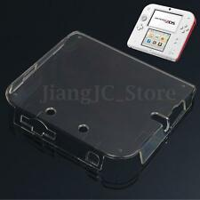 Transparent Clear Crystal Plastic Hard Case Cover Skin For Nintendo 2DS Console