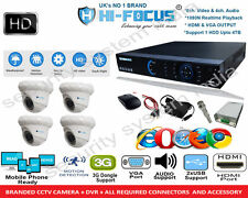 8 ch dvr + 4pc. Indoor hifocus 20 mtr. IR Cut  CCTV Camera + all req. connectors