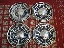 """1963 Chevy II  Set of Four 13"""" Hubcaps"""