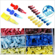 60 Pcs Blue & Red & Yellow Autos Quick Splice Scotch Lock Wire Connectors Crimp