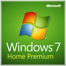 Windows 7 Home Premium mit  Lizenzkey und DVD  64 Bit  SP1  NEU !