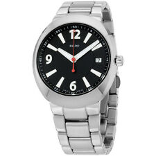 Rado R15943153 Watch D-Star Mens - Black Dial Stainless Steel Case Quartz