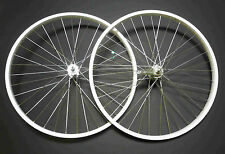 Beach Cruiser Bike 26 x 1.75 Coaster Brake Front & Rear Wheels Rims White