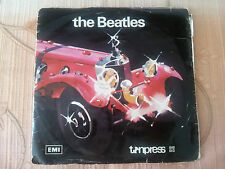 2 EP Album - THE BEATLES - Made in Poland by Tonpress N-10 N-11 - Girl Hey Jude