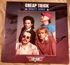 "Cheap Trick - Mighty Wings NM Promo 12"" (Columbia, 1986) top gun"