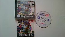 JUEGO COMPLETO PREMIER MANAGER 98 PLAYSTATION 1 PS1 PSX.PAL UK.
