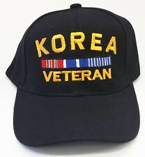 KOREA VETERAN MILITARY BASEBALL CAP HAT FREE SHIPPING USA
