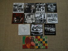 14 x '7' Sammlung Single Punk Moderat Likvidation Global Threat Anschiss No Way