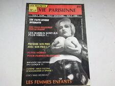 REVUE LES SECRETS DE LA VIE PARISIENNE N°18 *