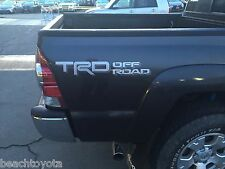 Tacoma TRD Off-Road bedside decal Silver/Gray 75996-0C070-A3 Genuine OEM