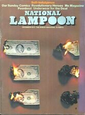 NATIONAL LAMPOON December 1973 - CHEECH WIZARD BY VAUGHN BODE, P J O'ROURKE MORE