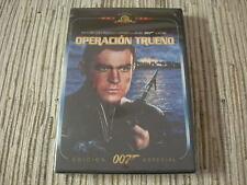 DVD PELICULA JAMES BOND 007 OPERACIÓN TRUENO ED ESPECIAL SEAN CONNERY NUEVO
