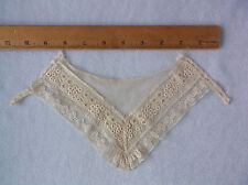 Antique Vintage Lace Collar – Ladies, Doll Clothes - Delicate Hand Made Lace