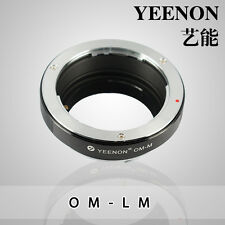 YEENON Olympus OM Lens to Leica M Mount Adapter ,Macular linkage can not focus