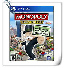PS4 MONOPOLY: FAMILY FUN PACK SONY PlayStation Ubisoft Board