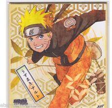 Naruto Shippuden Shikishi Art Visual Collection - Naruto