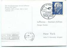 FFC 1966 Lufthansa Special Flight Boeing 707/330C New York Kennedy Super Cargo