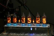 IN-14 NIXIE TUBE CLOCK WITH REMOTE AND ALARM 6 TUBE 100% Complete Assembled