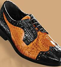Stacy Adams® Good Looking Spectator Shoes Black/Scotch 9 (Med) Brand New In Box