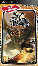 MONSTER HUNTER FREEDOM ESSENTIALS EDITION SONY PSP GAME