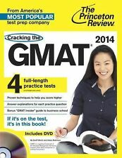 The Princeton Review: Cracking the GMAT 2014 Edition 4 Practice Tests