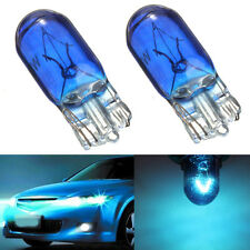 2x T10 168/W5W 5W Halogen Blue Headlamp Globe Front Parking Headlight Light Bulb