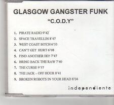 (FR594) Glasgow Ganster Funk - C.O.D.Y. - DJ CD