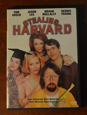 Stealing Harvard  DVD Jason Lee, Tom Green, Leslie Mann, Dennis Farina, Megan Mu