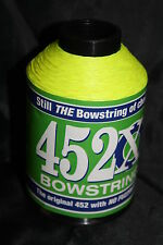 Fluorescent Yellow 1/8lb BCY 452X Bowstring Material Bow String Making