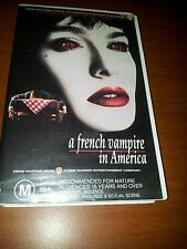 A French Vampire in America . VIDEO  VHS