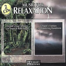 Music for Relaxation: Vivaldi's & Chopin (CD) New