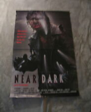 Near Dark 1987 HORROR Bill Paxton Lance Henriksen One Sheet Movie Poster VG C6