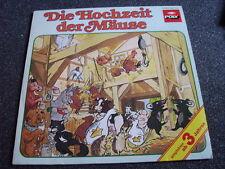 Die Hochzeit der Mäuse LP-Poly-Germany
