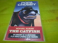 POPA CHUBBY - THE CATFISH !!!!!!PLV!!!!!!RARE FRENCH PROMO DISPLAY!!!!