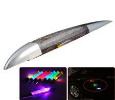 Solar Shark Gill Fin LED Car Motor Traffic Emergency Warning Light Fad MW