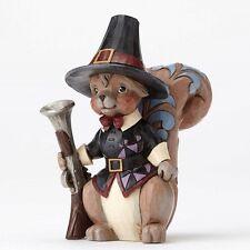 4053860 Pint Pilgram Squirrel Halloween Jim Shore Figurine  Decoration Harvest