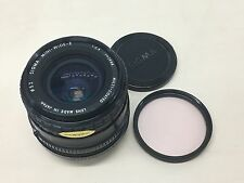 Sigma Mini Wide II 28mm f2.8 MF MACRO lens FIT for Canon FD