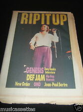 NEW ZEALAND MUSIC MAGAZINE GENESIS DEF JAM NEW ORDER OMD O.M.D. JEAN-PAUL SARTRE