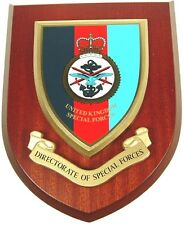 DIRECTORATE OF SPECIAL FORCES SAS SBS CLASSIC HAND MADE REGIMENTAL MESS PLAQUE