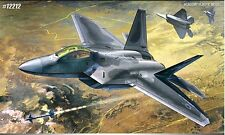 Academy 1/48 12212 Air Dominance Fighter F-22A Aircraft Plastic Model Kit Hobby
